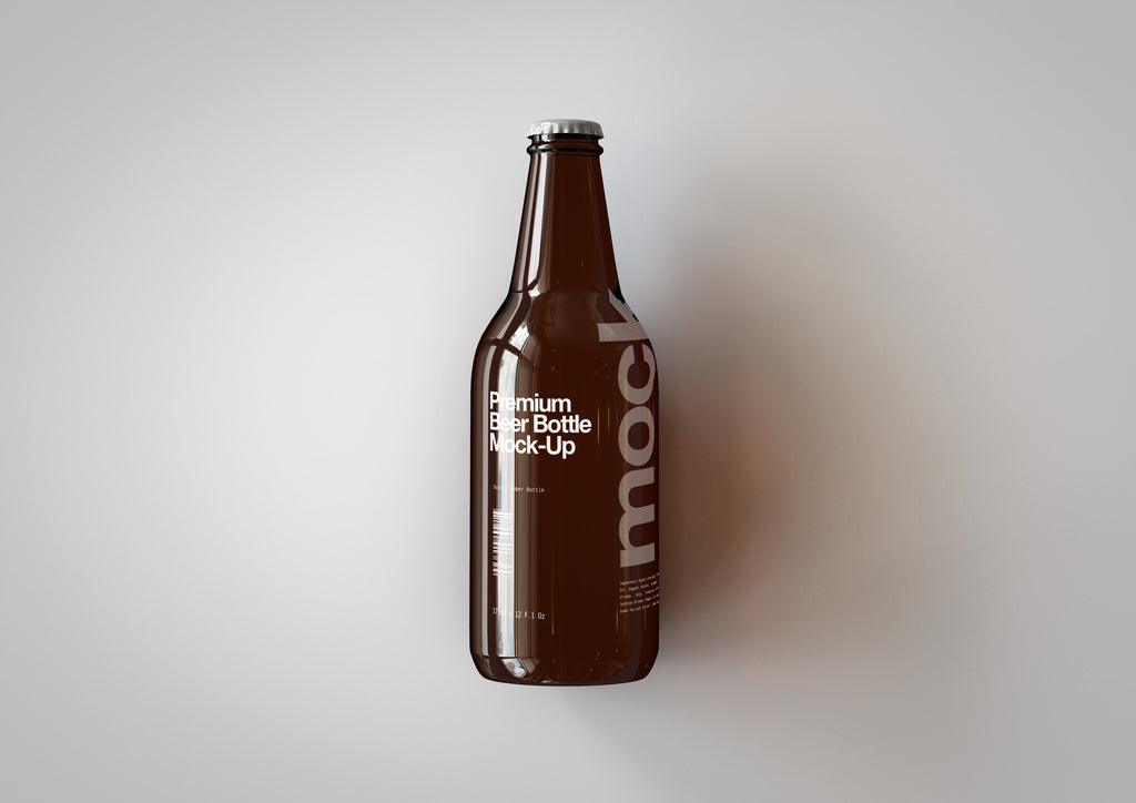 US Beer | Lager Mock-Up 330ml | 11 Fl Oz