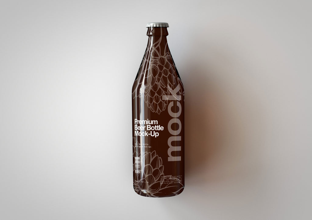 Longneck Beer Bottle Mock-Up