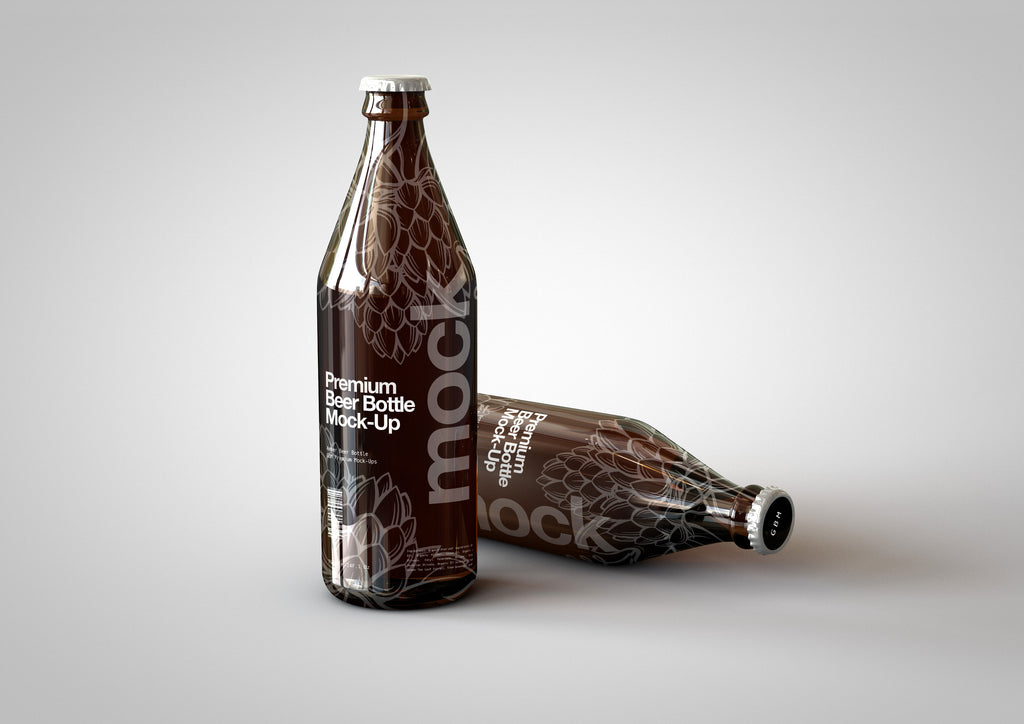 Beer Bottle Mock-Up Bundle | Edition #1