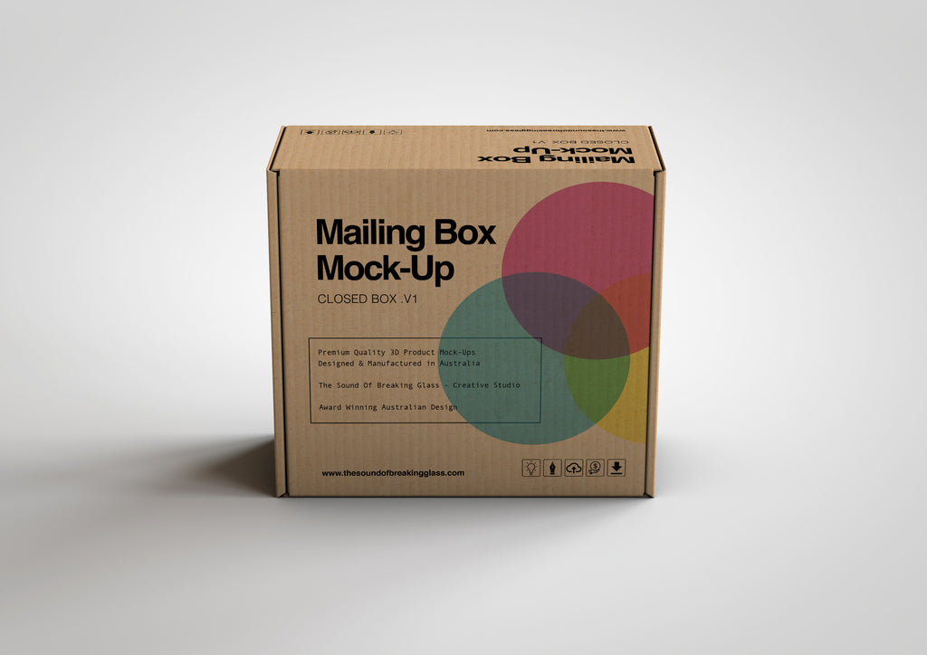 Mailing | Shipping Box Mock-Up