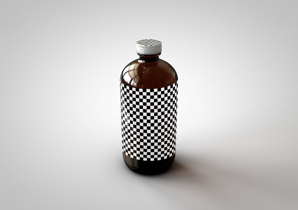 Squealer Bottle | Beer Bottle | Cold Brew Coffee Bottle | Craft Beer Bottle Mock-Up