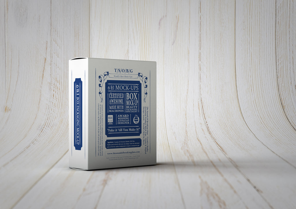 Playing Cards Box Mock-Up | White Box Mock-Up
