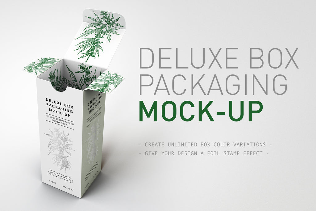 Deluxe Paper Box Mock-Up V2