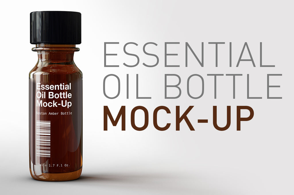 Essential Oil | Vial | Tincture Bottle Mock-Up