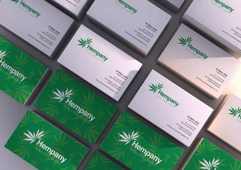 Medical Marijuana - Editable Logo Template & Branding Package