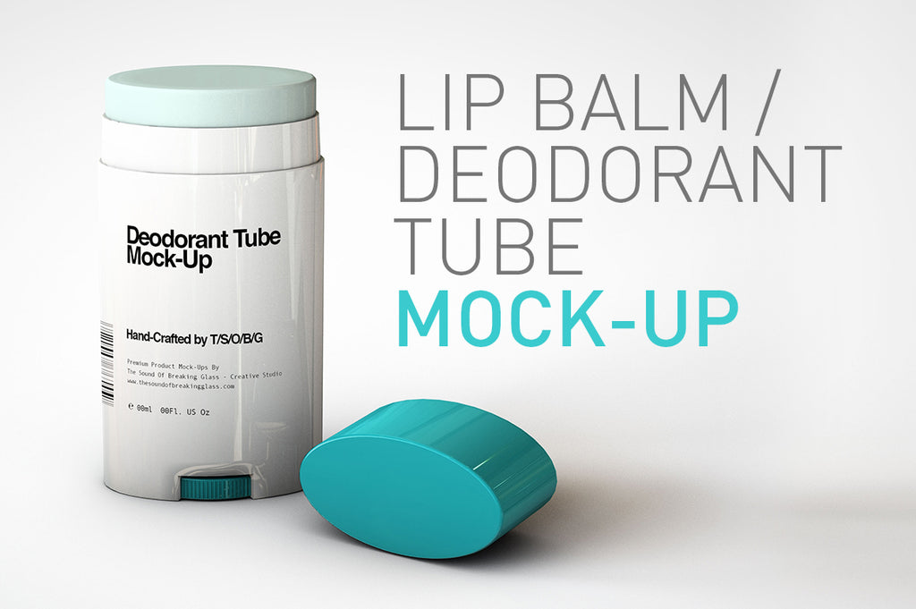 Lip Balm Mock-Up | Deodorant Stick Mock-Up