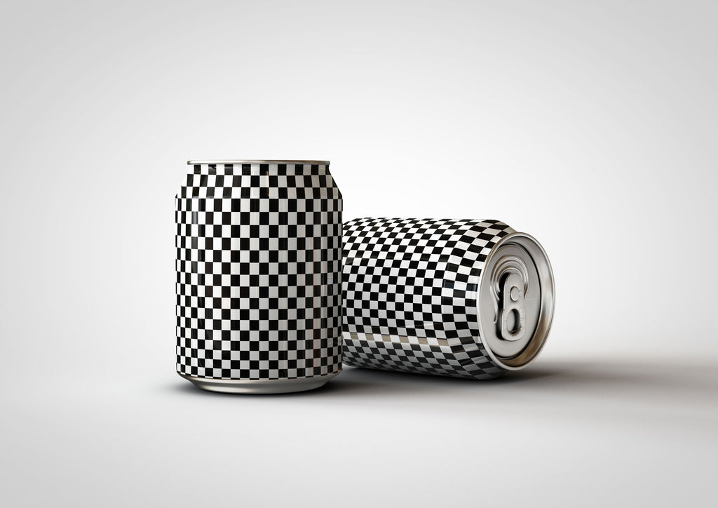 Mini Soda | Drink Can | Beer Can Mock-Up