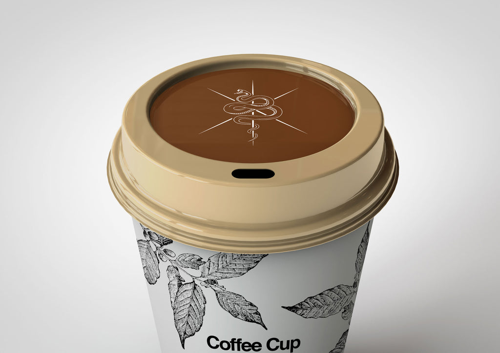 Disposable Coffee Cup Mock-Up