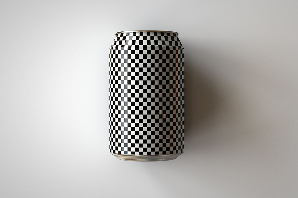 Soda Can | Beer Can Mock-Up | 355ml - 375ml - 12 US Fl oz