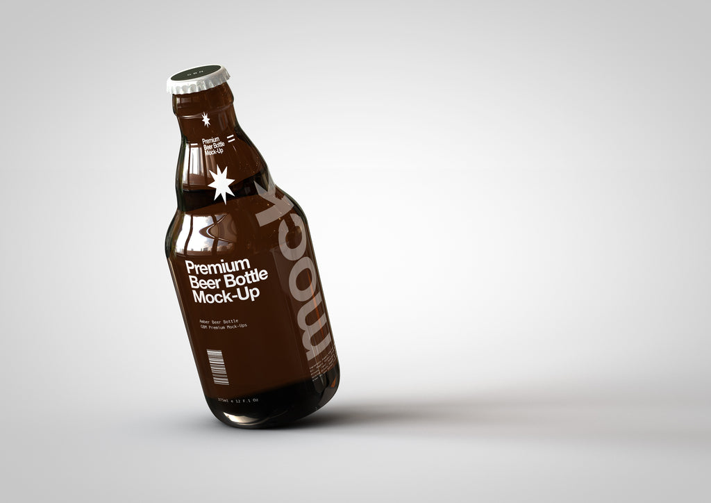 Steinie | Stubby | Craft Beer Bottle Mock-Up