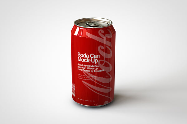 soda can beer can mock up 440ml 500ml the sound of breaking