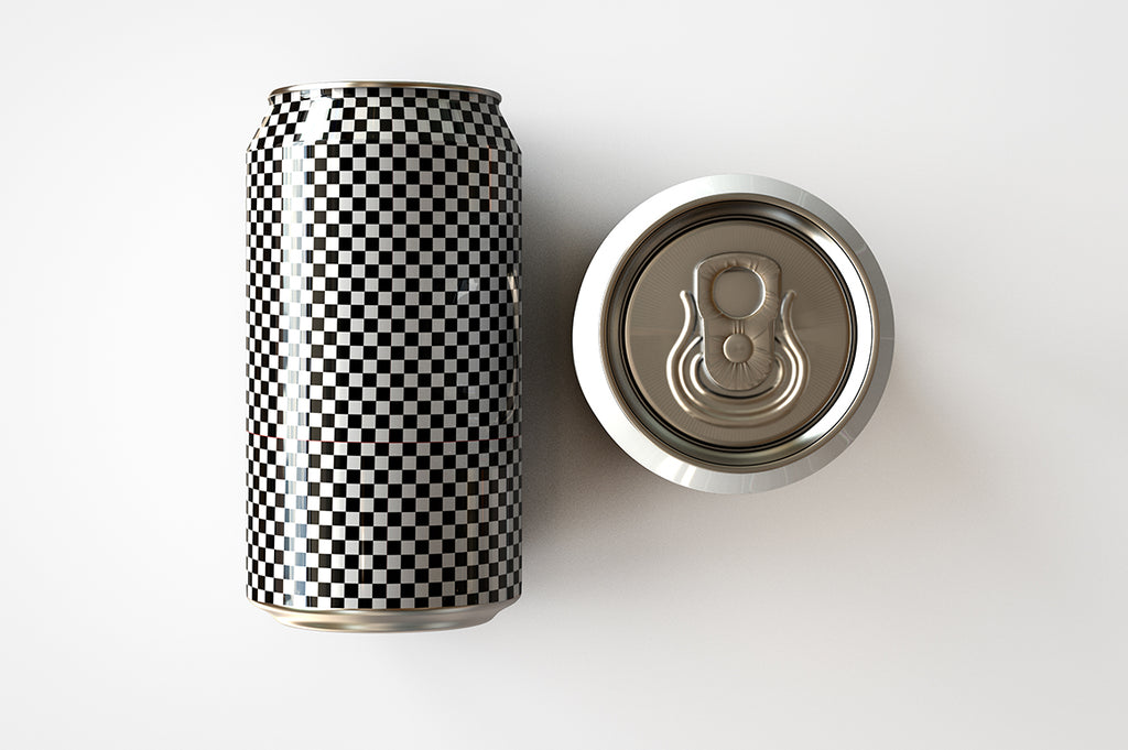 Metal Soda Can & Beer Can Mock-Up Bundle