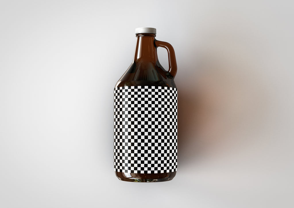 Growler Bottle | Beer Bottle | Beer Jug | Craft Beer Bottle Mock-Up
