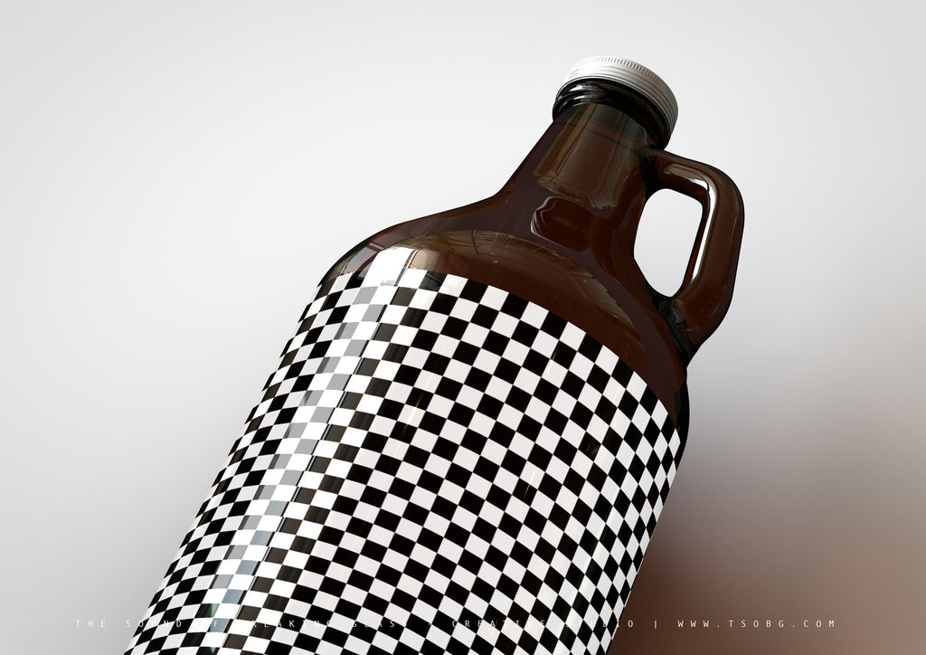 Craft Beer | Beer Jug | Growler Bottle Mock-Up - US 64 Fl Oz