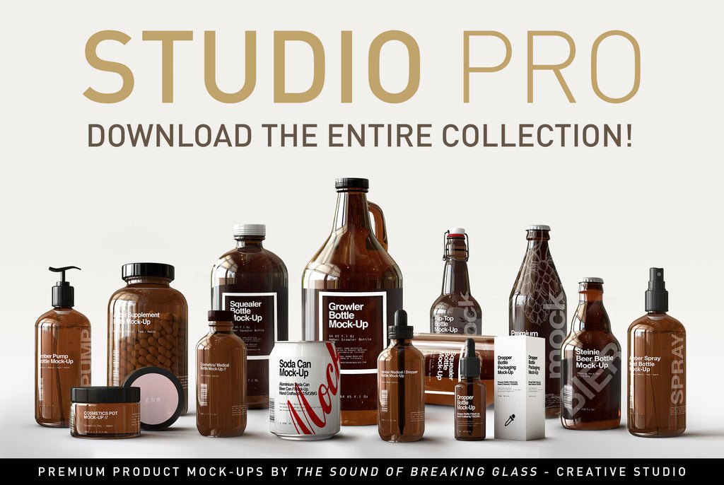 Entire Store - Mock-Up Bundle by The Sound Of Breaking Glass- Creative Studio