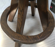 vintage oak steampunk stool + 3 song EP download