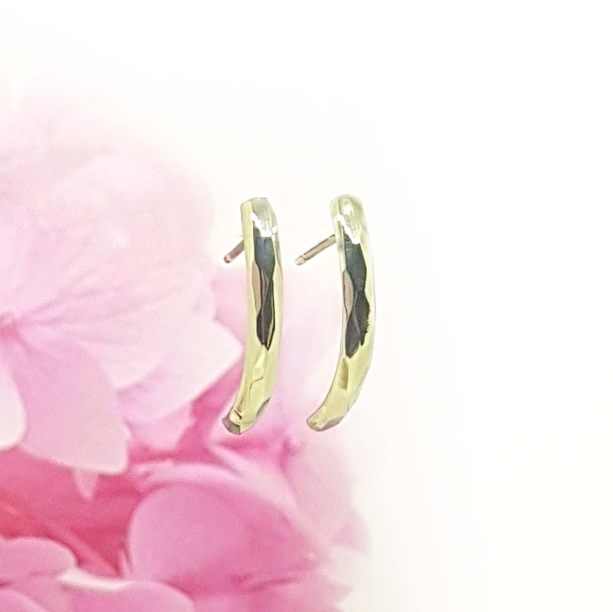 Curved Prism Earrings - Anni Anni