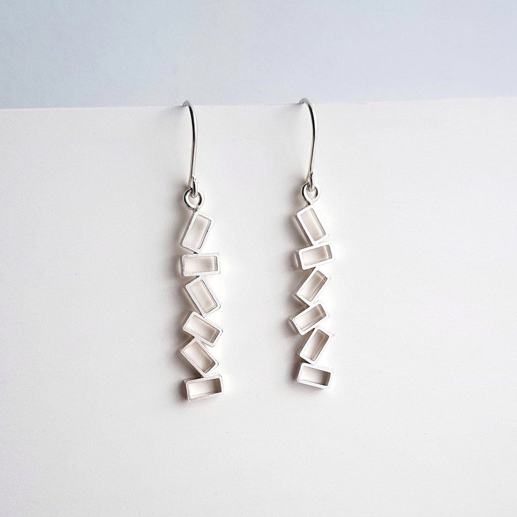 Chaos Drop Earrings - Anni Anni