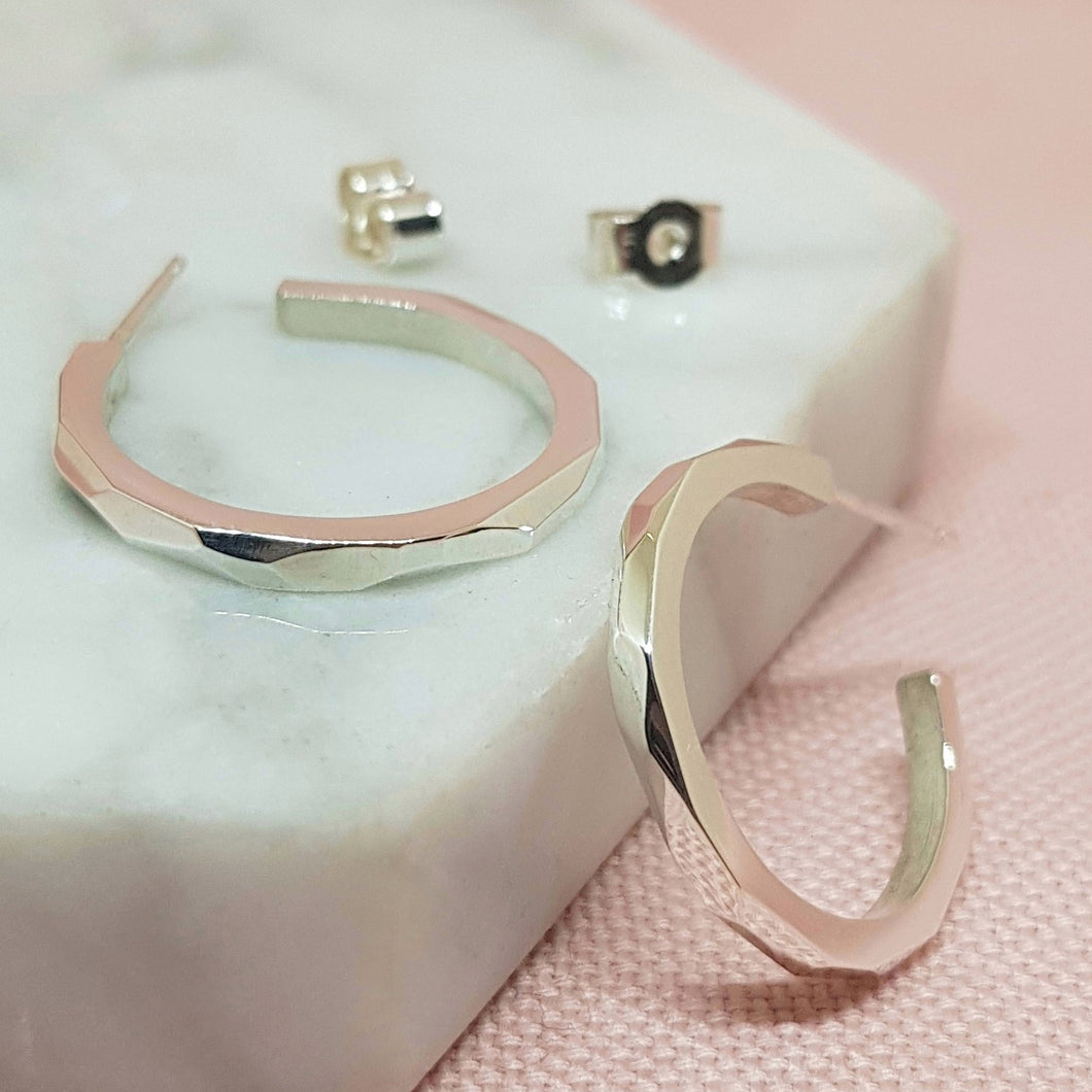 Prism Hoop Earrings - Anni Anni