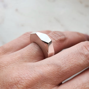 Extra Extra Chunky Prism Ring