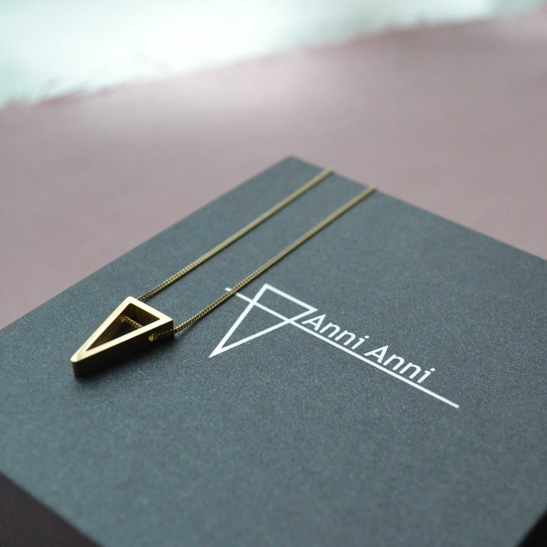 On Point Gold Pendant - Anni Anni