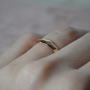 Prism Ring in Rose Gold - Anni Anni