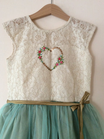 Hand embroidered frocks
