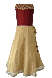 Maroon and Gold Lacha