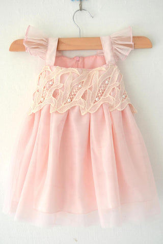 Candy Pink Baby Frock