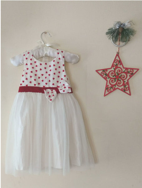 Red Heart Baby Frock