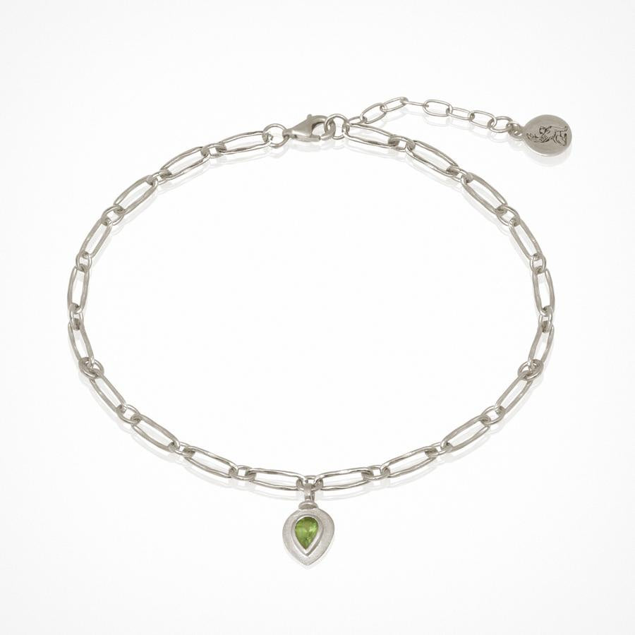 Tale Anklet Silver - One Palm Studio