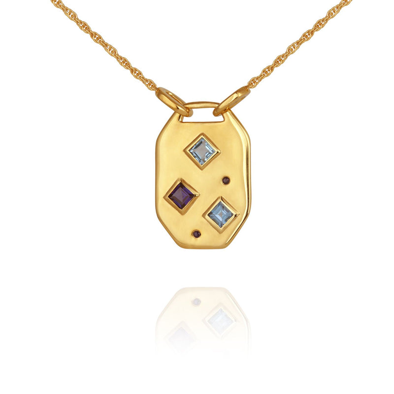 Neve Necklace Gold - One Palm Studio