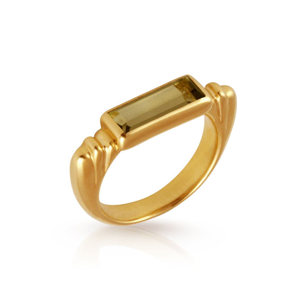 Phoebe Ring Gold - One Palm Studio