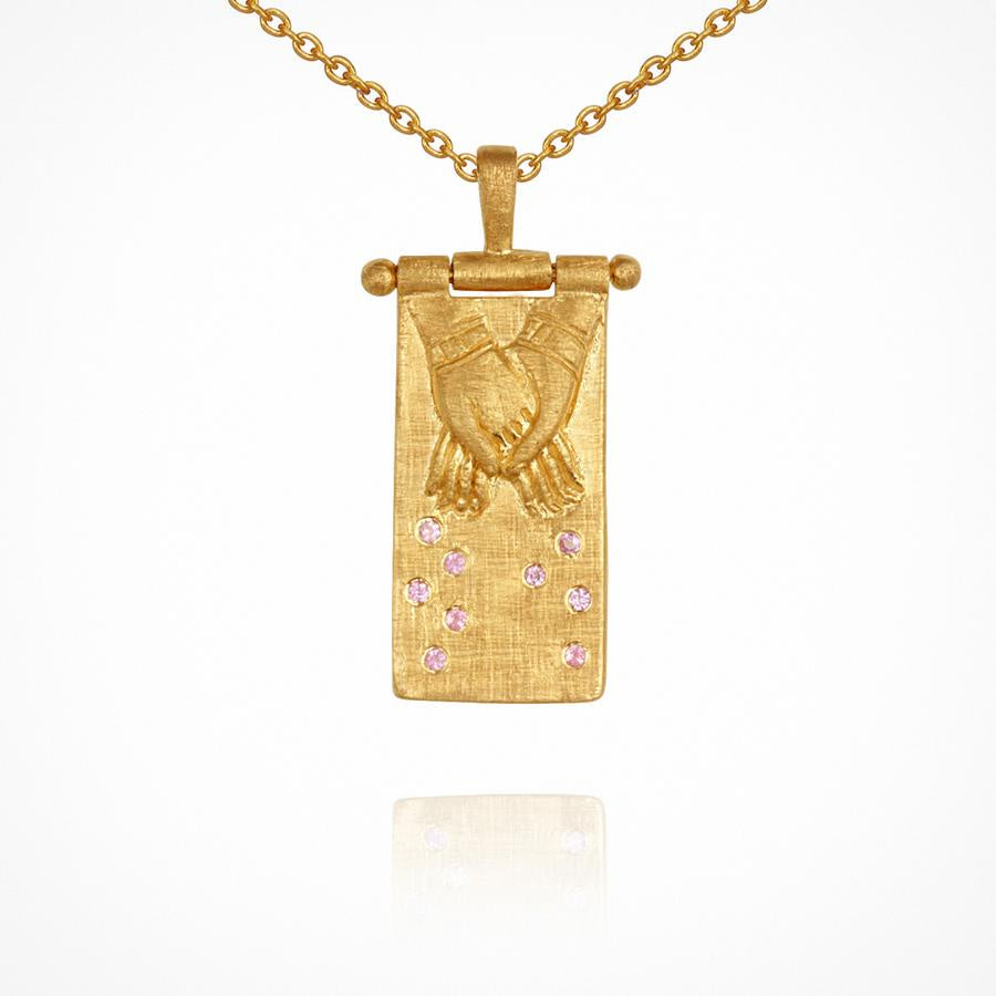 Juna Necklace Gold - One Palm Studio