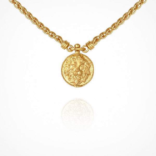 Leon Necklace Gold - One Palm Studio