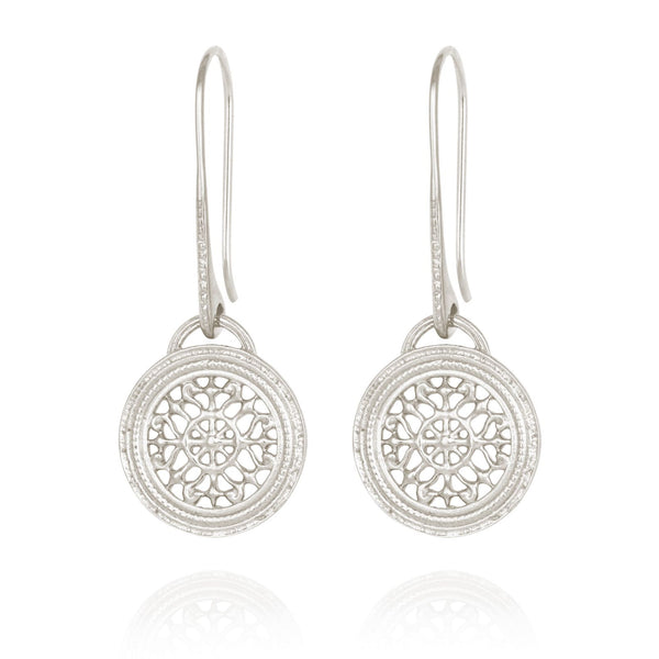 Dafni Earrings Silver - One Palm Studio