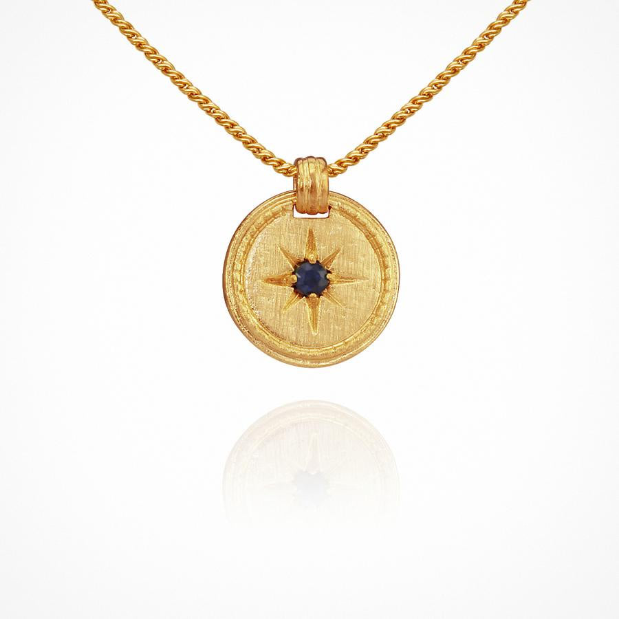 Stella Necklace Gold - One Palm Studio
