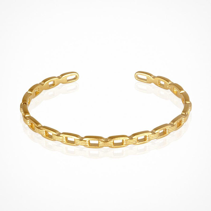Ava Cuff Gold - One Palm Studio