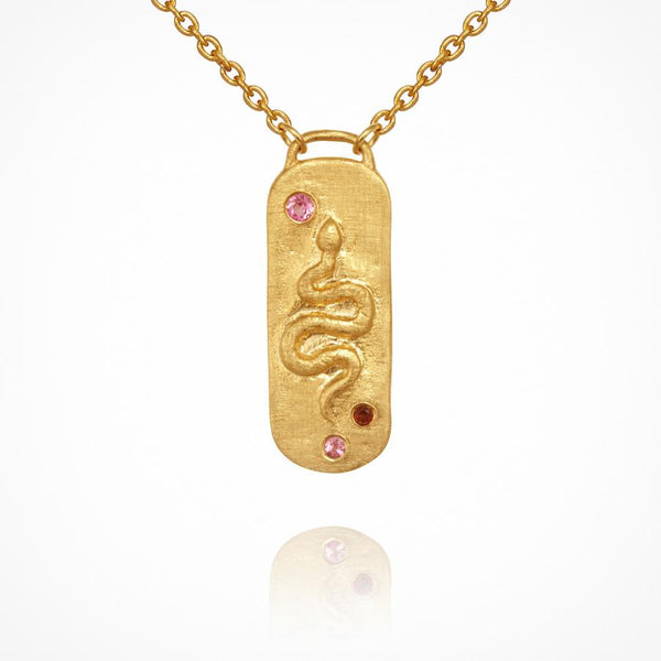 Neri Necklace Gold - One Palm Studio