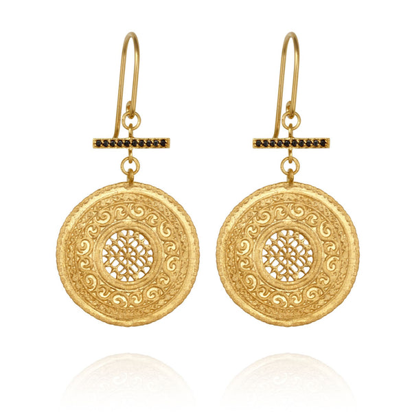 Selma Earrings Gold