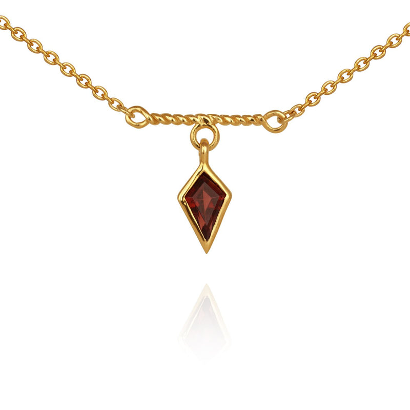Tulli Necklace Gold - One Palm Studio