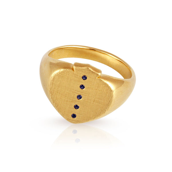 Attis Ring Gold Size 6 - One Palm Studio