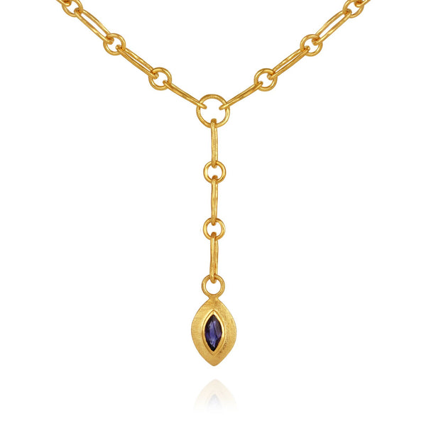 Eva Necklace Gold - One Palm Studio