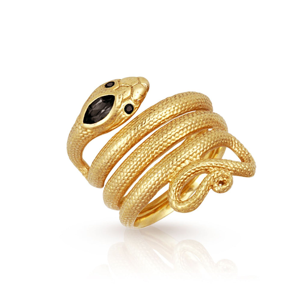Uma Ring Gold - One Palm Studio