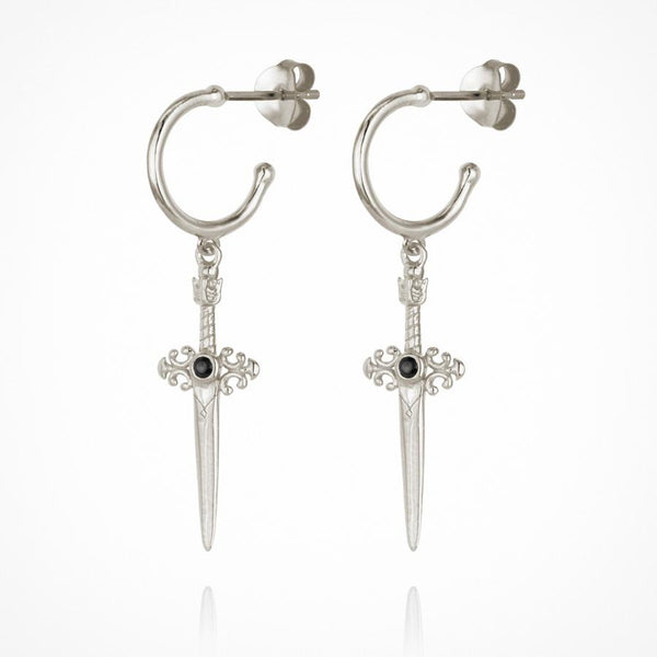 Themis Earring Silver - One Palm Studio