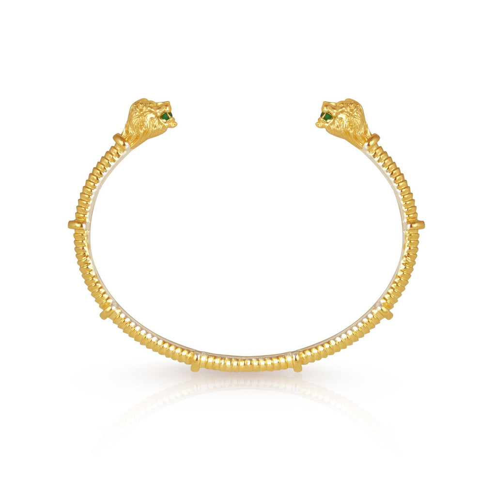 Leon Cuff Gold - One Palm Studio