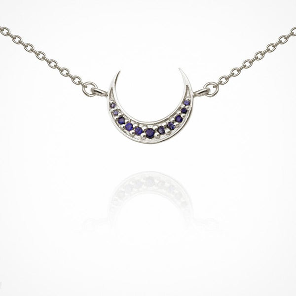 Aylin Necklace Silver - One Palm Studio