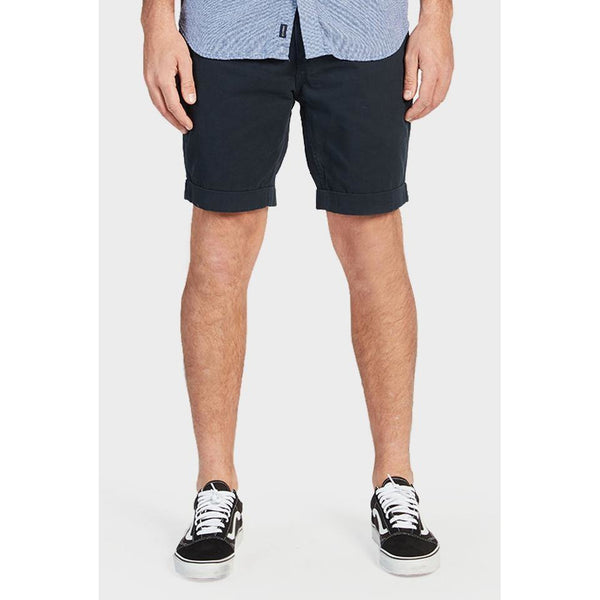 Santiago Short Navy - One Palm Studio