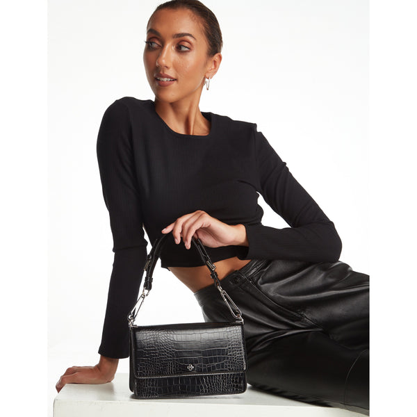 Capri Flap Shoulder Bag - One Palm Studio