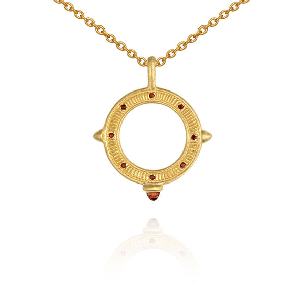 Solice Necklace Gold